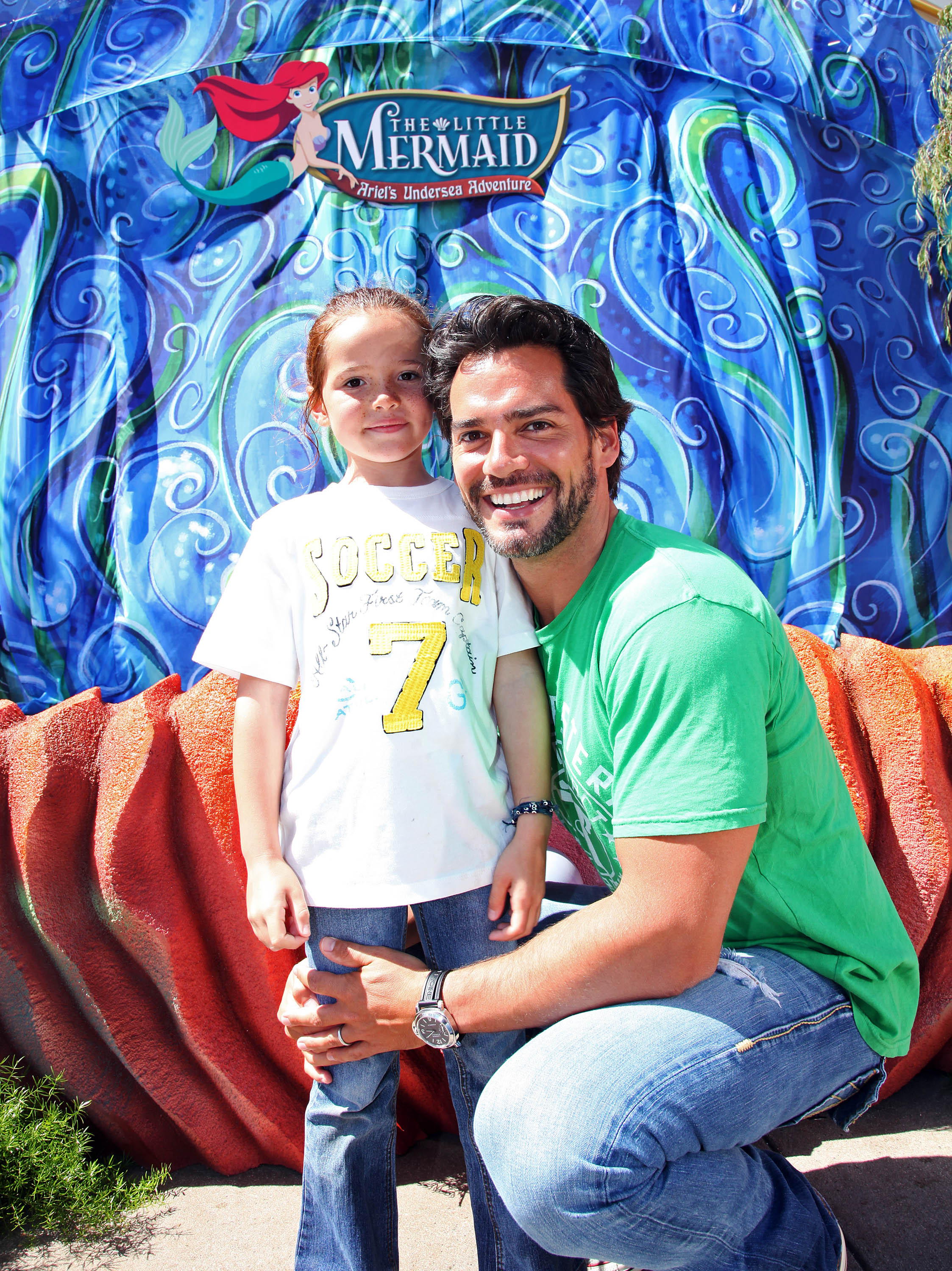 Grand opening ceremony for ÔThe Little Mermaid ~ ArielÕs Undersea Adventure
