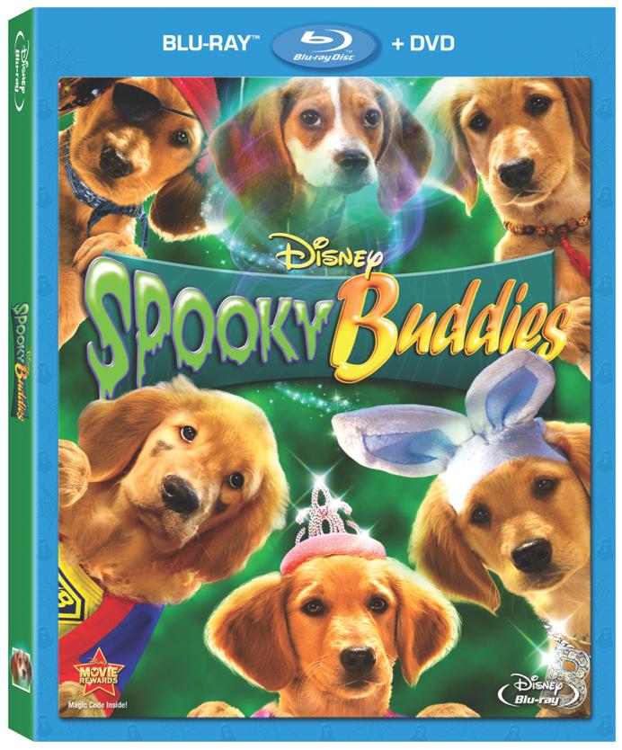 spooky buddies DVD Spooky Buddies en tiendas!   Sorteo