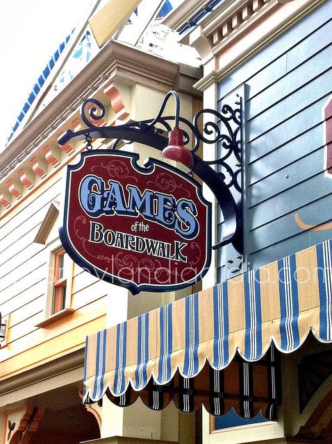 Juegos de Feria en Disney California Adventure