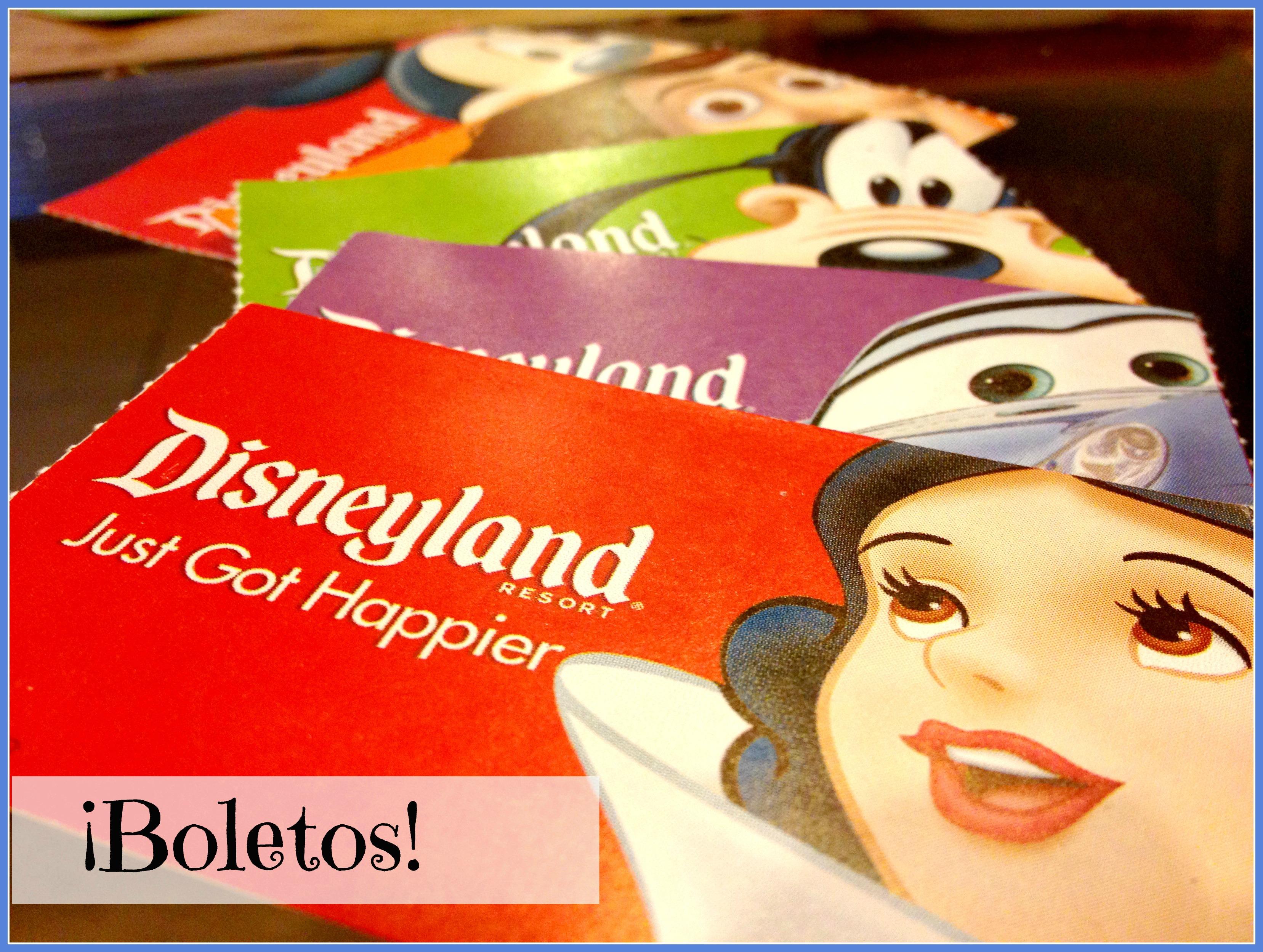 ¿Cuánto cuestan los boletos para Disneylandia? {REVISADO 5/2014}