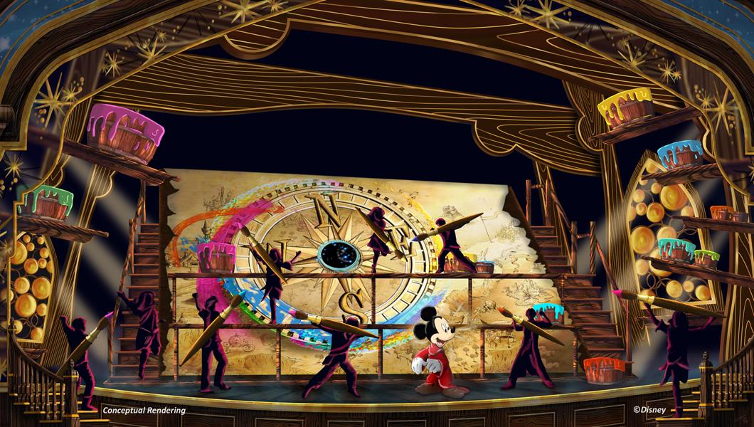Nuevo Show de Mickey en Disneylandia