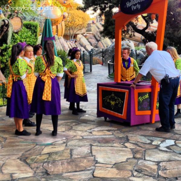 Estaciones de dulces en Disneylandia