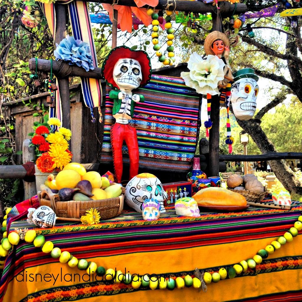 Día de Muertos en Disneylandia