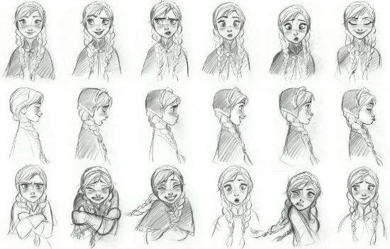 Dibujos de Anna