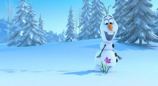 Olaf en hielo