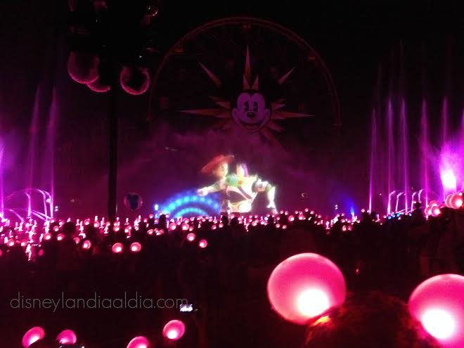 World of Color - Toy Story