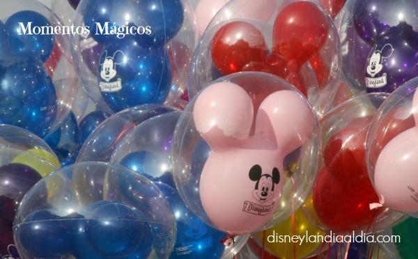 globos en disneylandia