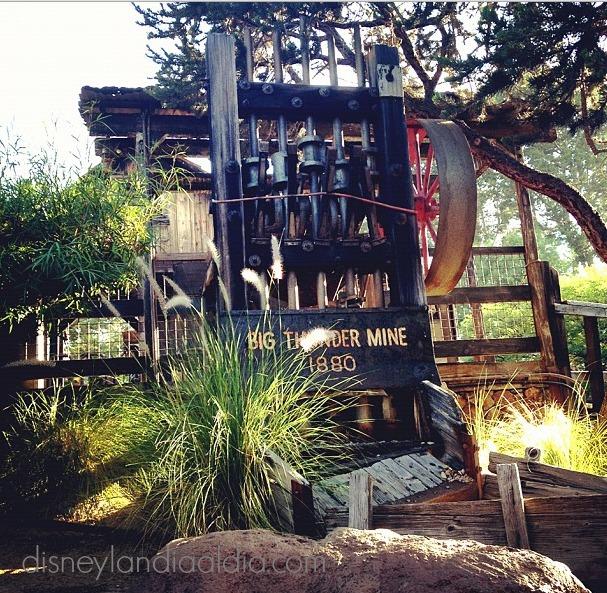 Datos curiosos de Big Thunder Mountain Ranch Railroad- Disneylandiaaldia.com