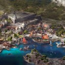 Mundo de Pirates of the Caribbean, Treasure Cove en Disneylandia Shanghai