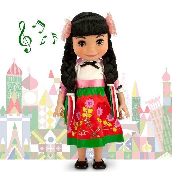 Muñeca de México en la Colección Small World - Disneylandiaaldia.com