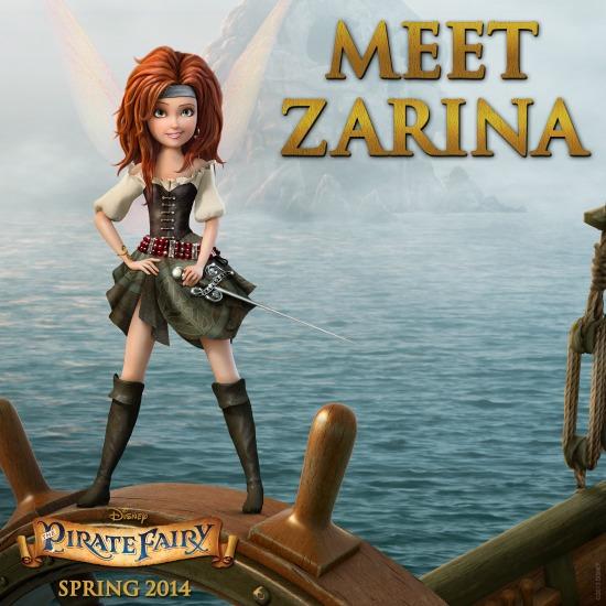 Conoce a Zarina el hada pirata - disenylandiaaldia.com