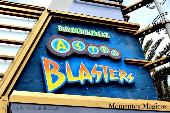 Momentos Mágicos ~ Astro Blasters en Disneylandia - Disneylandiaaldia.com