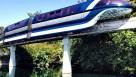Vista Panorámica desde el Monorail de Disneylandia