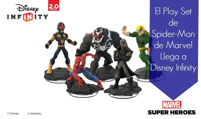 El Play Set de Spider-Man de Marvel Llega a Disney Infinity - FamilyisFamilia.com