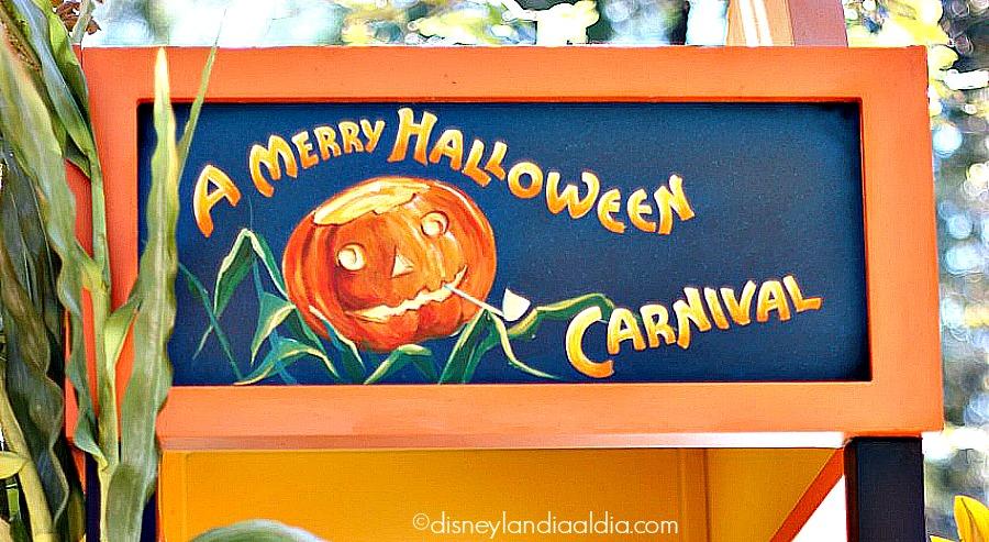 Carnaval de Halloween en Disneylandia