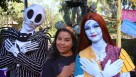 Jack y Sally Skellington en Disneylandia este Halloween 2014