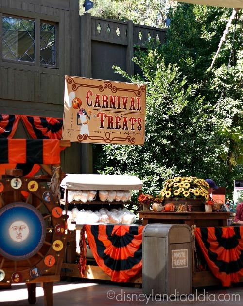 Actividades del Carnaval de Halloween en Disneylandia