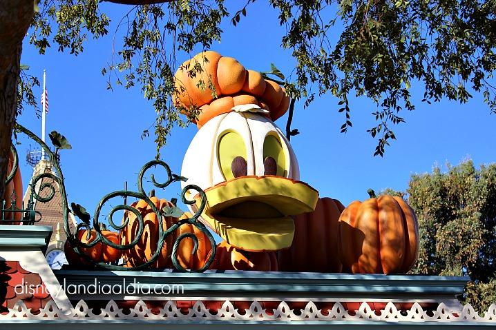 Calabaza en Disneylandia