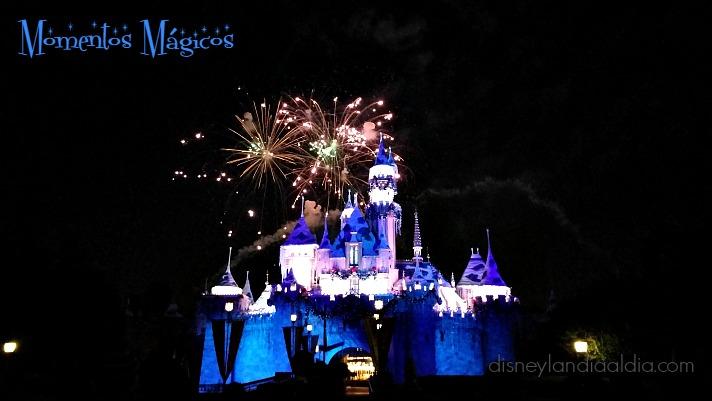 Increíble Víspera de Año nuevo en Disneylandia