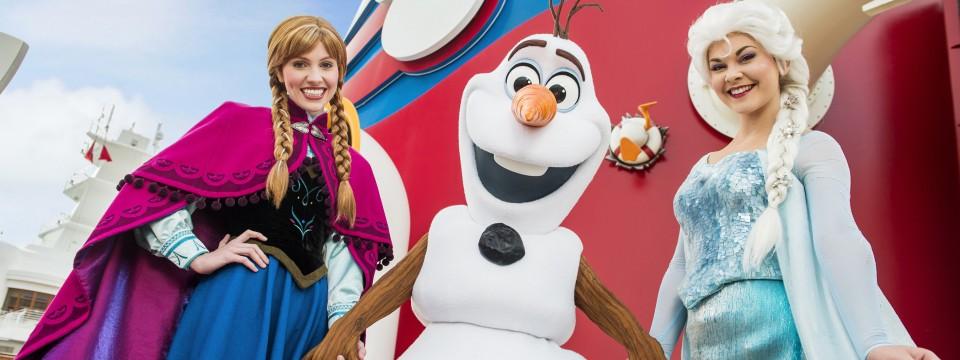 Land of Frozen en los Cruceros de Disney