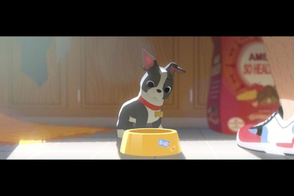 Escena del cortometraje de Disney Festín