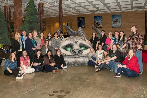 Blogueros con Gruff en DisneyToons