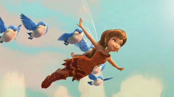 Fawn volando