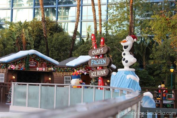 La pista de patinaje de Olaf
