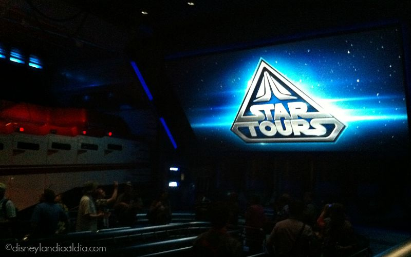 Star Tours en Disneylandia