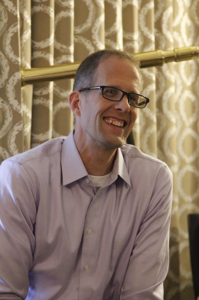 Pete Docter Director de Intensa Mente - disneylandiaaldia.com
