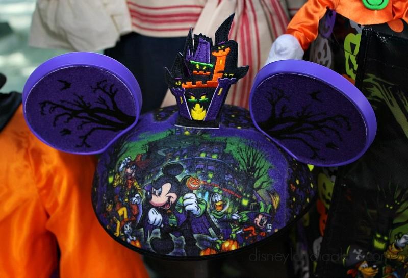 Orejitas de de Mickey de Halloween