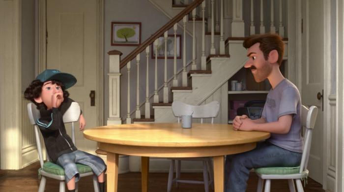 El papá de Riley y Jordan en una escena de Riley's First Date? - disneylandiaaldia.com