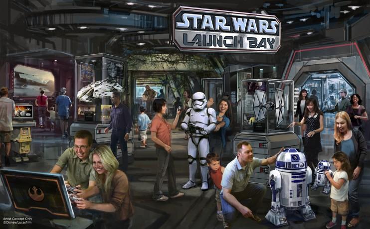 Personajes de Star Wars en Disneylandia- disneylandiaaldia.com
