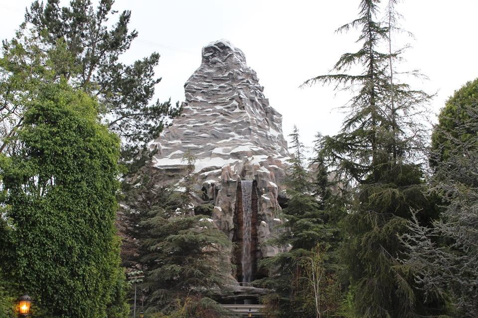 Matterhorn en Disneylandia