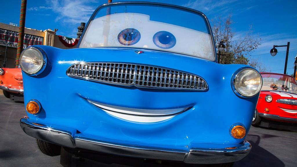 Luigi's Rollickin' Roadsters en Disney California Adventure