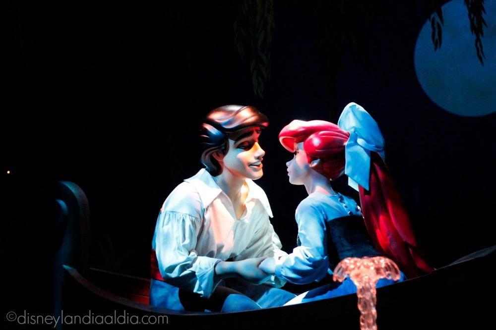 La Sirenita y príncipe Eric en Disney California Adventure - disneylandiaaldia.com
