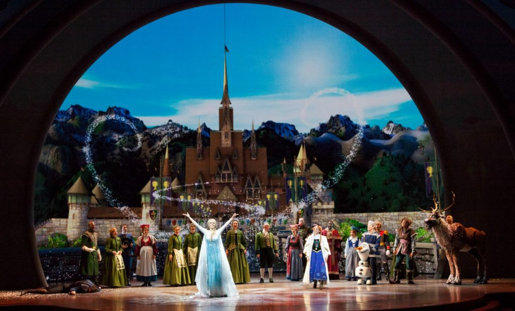 Escena Final de Frozen Live at the Hyperion - disneylandiaaldia.com