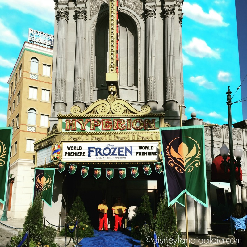Estreno Mundial de Frozen Live at the Hyperion Theater en Disney California Adventure - disneylandiaaldia.com
