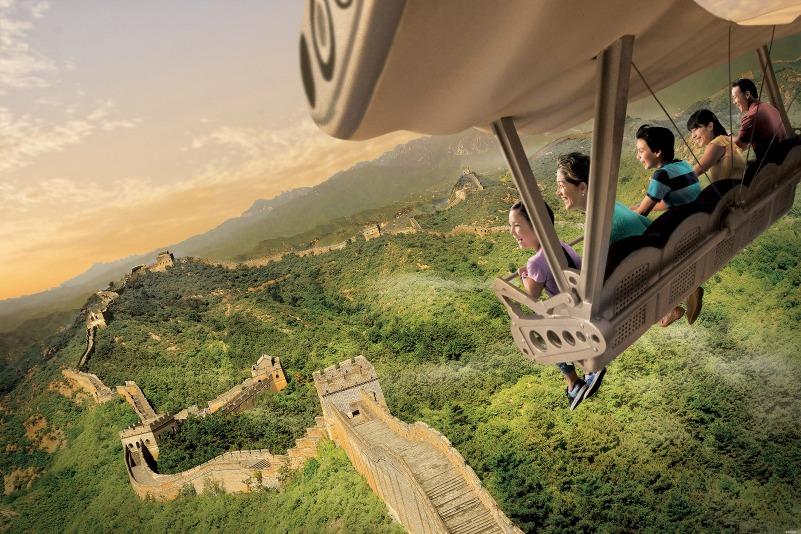 Atracion Soarin' en Disney California Adventure