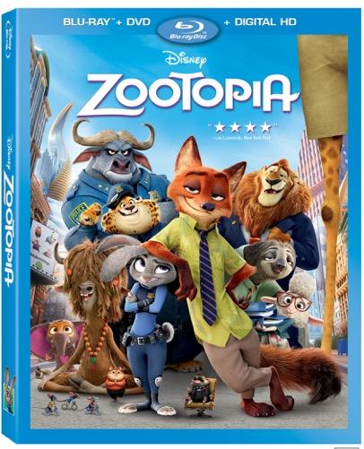 Blu-ray de Zootopia - disneylandiaaldia.com