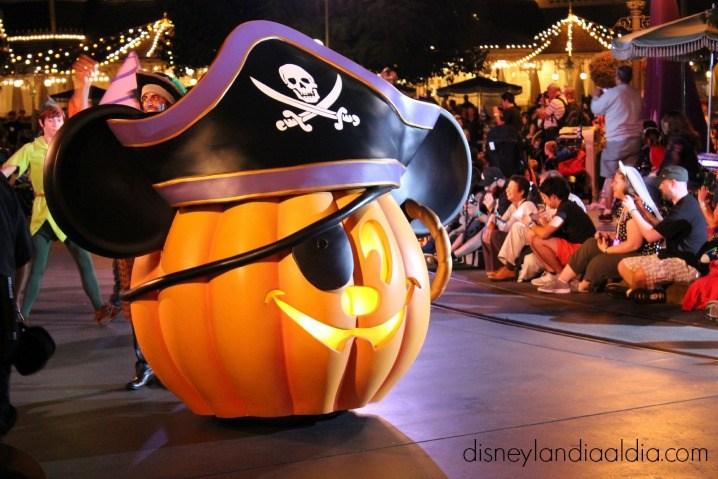 Desfile de Halloween en Disneylandia