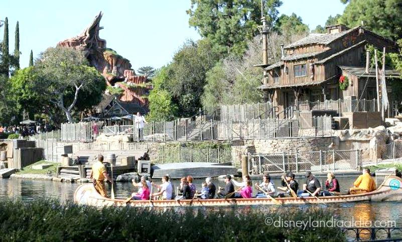 Disneyland Railroad y Rivers of America Regresan el Verano 2017