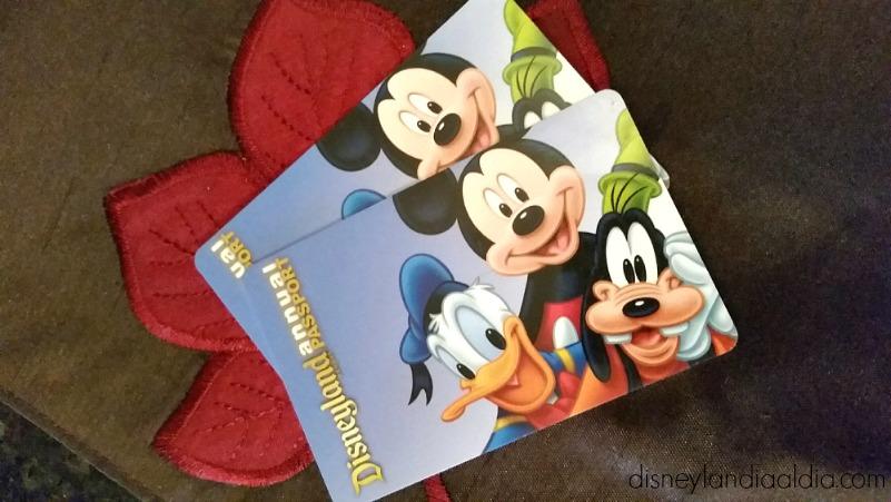 cambios en los pases anuales de Disneylandia