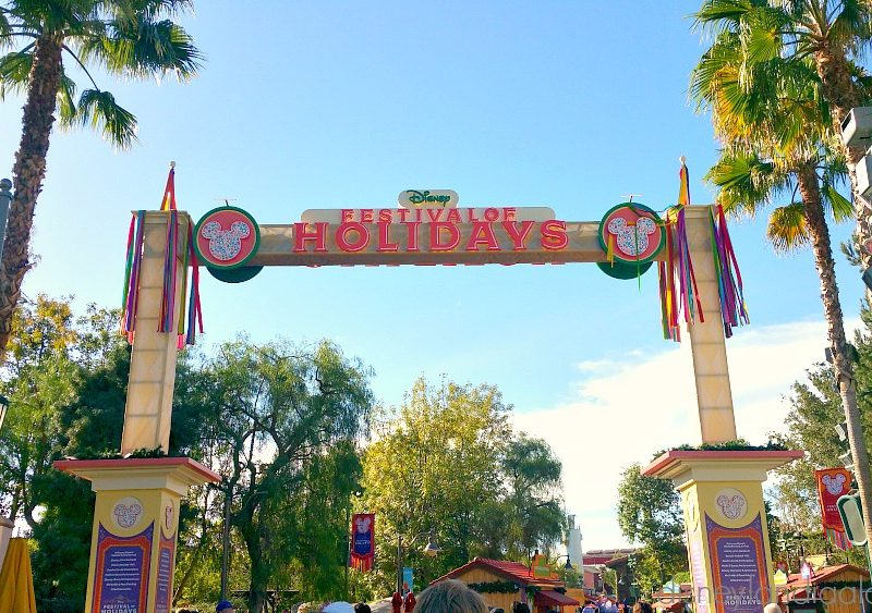 Festival of Holidays en Disney California Adventure Park
