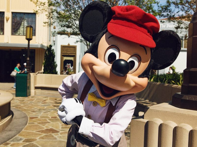 Mickey Mouse en Disney California Adventure - disneylandiaaldia.com