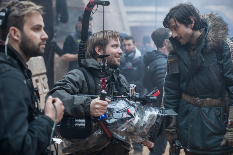 Diego Luna y Gareth Edwards Rogue One - Disneylandiaaldia.com