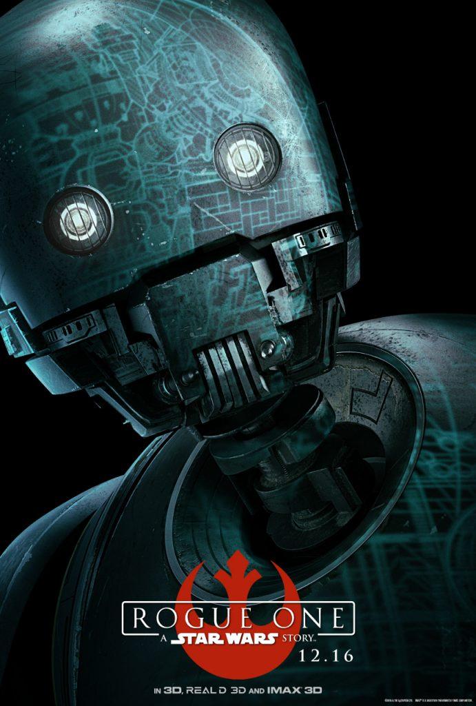 K-2SO Rogue One: Una Historia de Star Wars - disneylandiaaldia.com