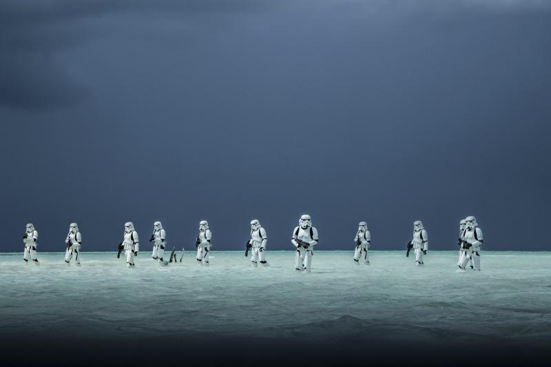 Stormtroopers en Rogue One - disneylandiaaldia.com