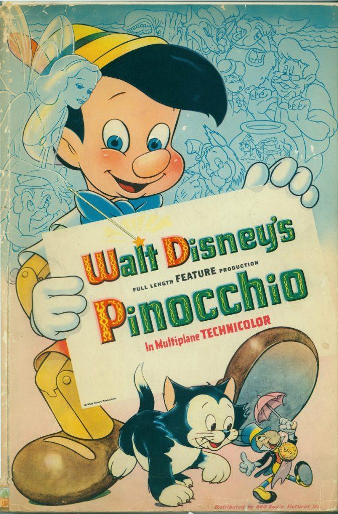 Poster de la película de Pinocho - disneylandiaaldia.com