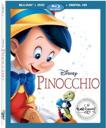Blu-ray DVD de Pinocho